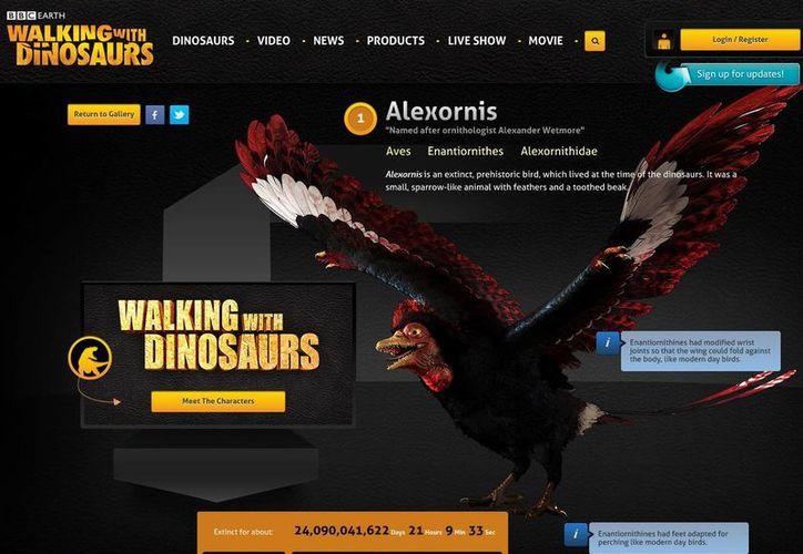En Walking with dinosaurs 'Alex es como el primer loro prehistórico, habla mucho, es muy gracioso, un poquito agresivo', destaca John Leguizamo sobre su personaje. (walkingwithdinosaurs.com)