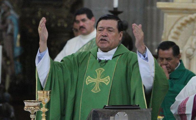 Existen una serie de críticas donde se le cuestiona a Norberto Rivera su fidelidad al Papa, críticas que llegaron hasta El Vaticano. (Archivo/Notimex)