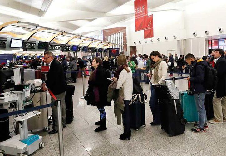 Los aeropuertos que operan en esas ciudades también se han visto afectados, especialmente el de Newark. (Foto: Contexto/Internet)