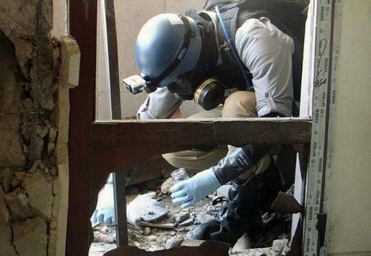 La ONU determinó que se usó gas sarín en el ataque realizado en suburbios de Damasco el pasado 21 de agosto. (Agencias).