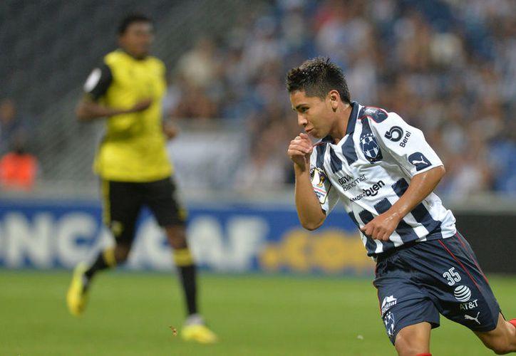 El saltillense Misael Domínguez, es una de las promesas más fuertes que ha tenido el Monterrey en los últimos años. (Vanguardia MX)