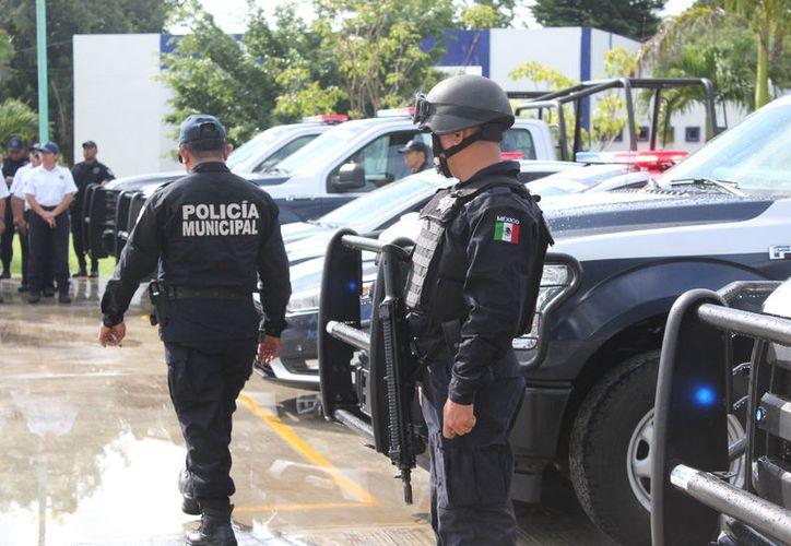 Ante la falta de elementos necesarios para consignar a los detenidos, la situación sólo se determina una falta administrativa. (Joel Zamora/SIPSE)