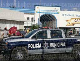Terminal marítima de Puerto Juárez, con pocos votantes