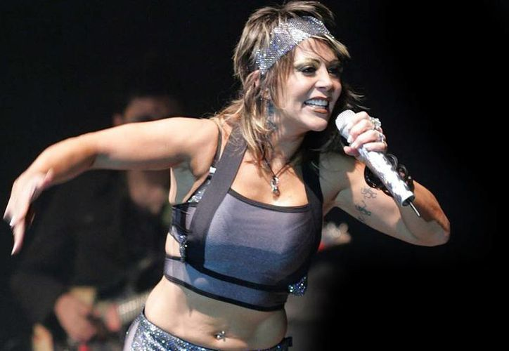 Alejandra Guzmán se presentará en Mérida el próximo sábado 28 en la Plaza de Toros. (Milenio Novedades)
