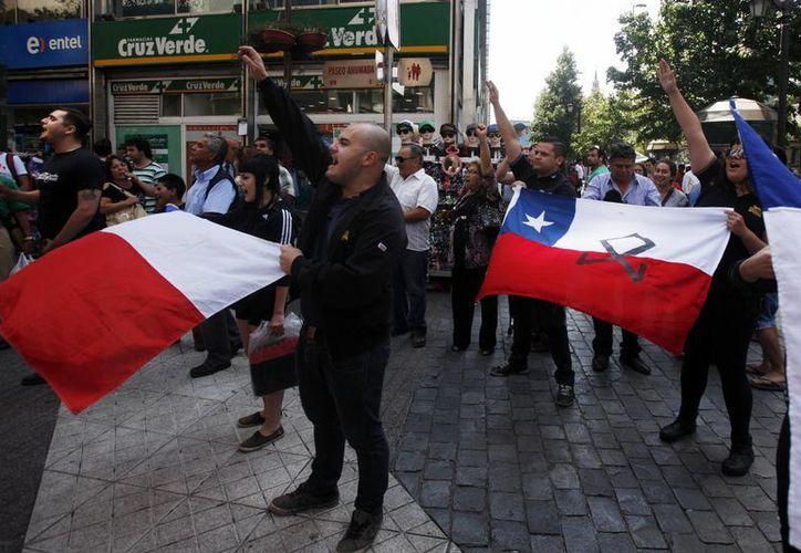 La protesta se desvaneció cuando las autoridades locales finalmente cedieron a las presiones de los pescadores y autorizaron el paso de siete personas a la sede de la gobernación. (Agencias)
