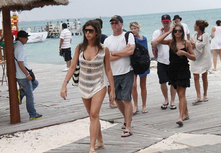 Esperan en este 2013 que el turismo brasileño se recupere en el destino. (Jesús Tijerina/SIPSE)