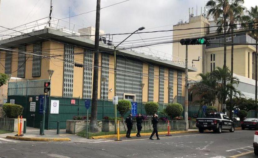 El pasado 30 de noviembre una granada explotó en el consulado de Estados Unidos en Guadalajara, Jalisco. (Internet)