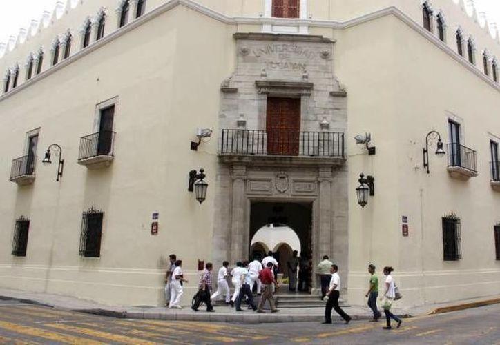 Las obras de la UADY comprenden el inmueble de la Universidad Abierta y a Distancia y las últimas etapas de la Facultad de Contaduría y Administración. (SIPSE)