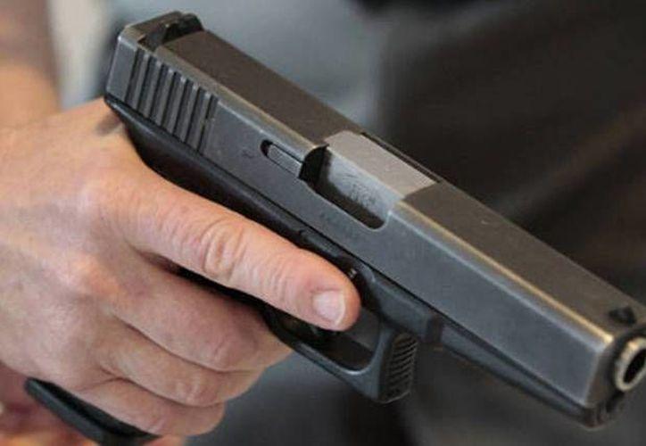 Las autoridades aseguraron varias armas, durante el ataque a la Fiscalía. (Contexto/Internet)