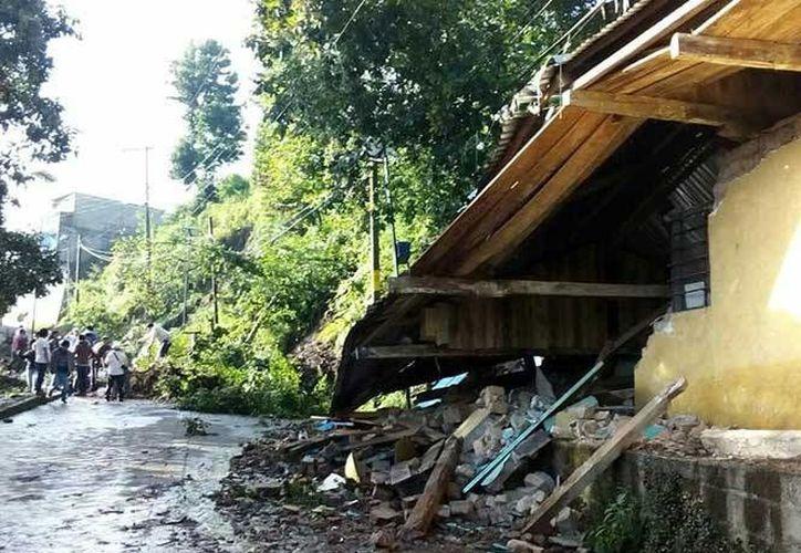 Las autoridades veracruzanas reportan daños en 29 municipios. (Excélsior)
