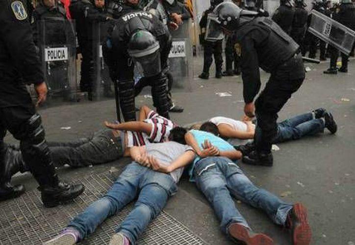 La delincuencia y la violencia de la zona es un problema grave para las autoridades de la zona. (aztecanoticias.com.mx)
