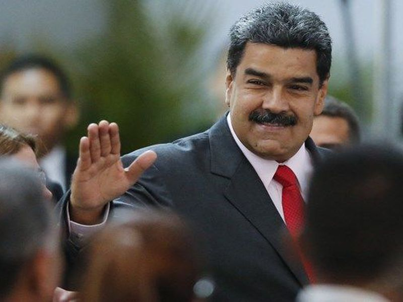 Maduro said in his speech that Robinson and Naranjo... (AP)