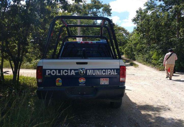 Los cuerpos fueron encontrados en un camino de terracería. (Redacción/SIPSE)