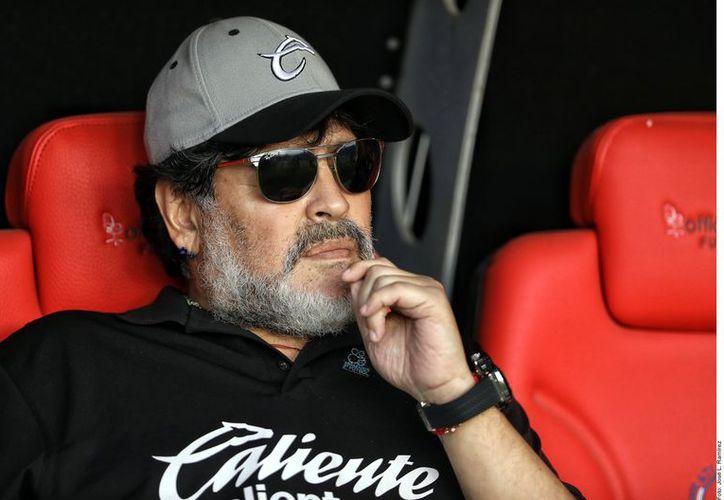 Maradona llevó a los Dorados a las dos últimas Finales del Ascenso MX. (Agencia Reforma)