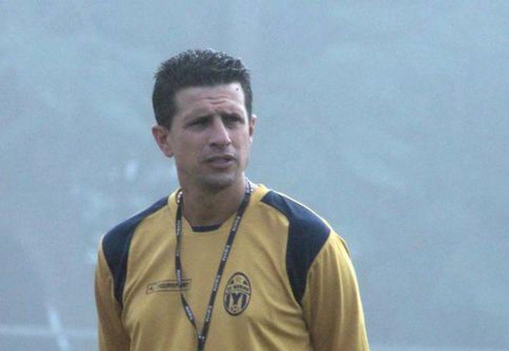 Ricardo Valiño, técnico de los Venados del CF Mérida. (Milenio Novedades)