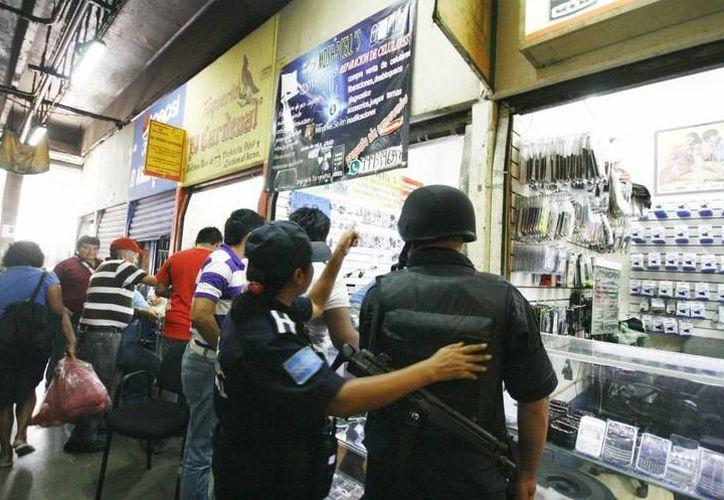 La detención de los sujetos se realizó en los alrededores del Mercado San Benito. (Imagen ilustrativa/SIPSE)