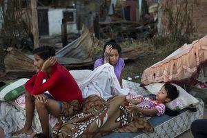 El rostro del desastre en Ecuador