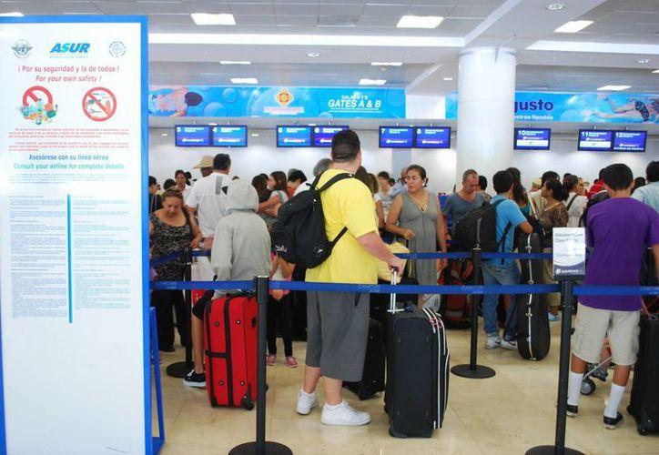 El vuelo inaugural llegará el próximo 9 de noviembre a la Terminal 1 del Aeropuerto Internacional de Cancún. (Victoria González/SIPSE)