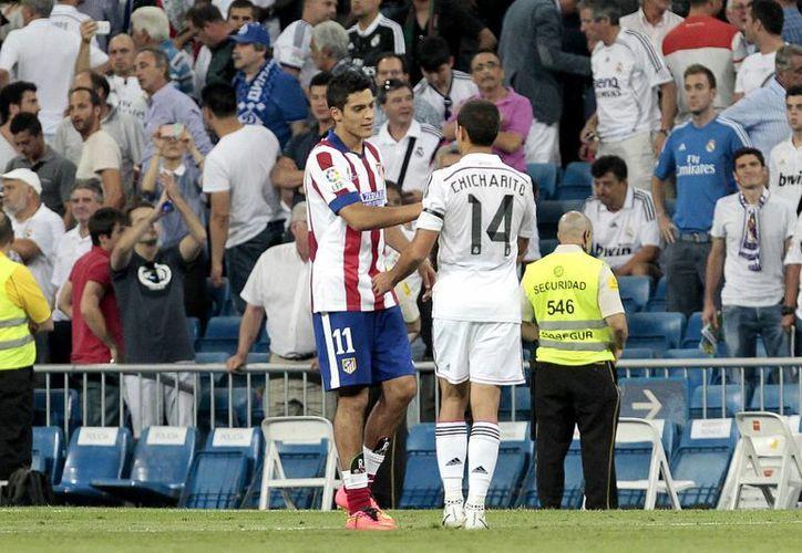 Los entrenadores de ambos conjuntos no tuvieron mas que elogios para ambos futbolistas que empiezan su carrera en España. (Foto: Notimex)