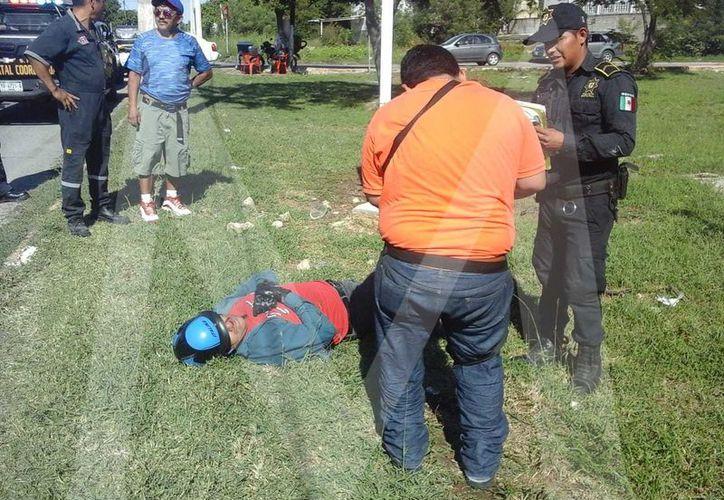 El motociclista fue a parar a un hospital y el automovilista fue detenido.