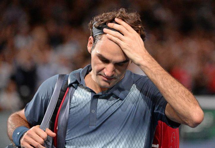 Federer cayó en sets seguidos ante el número dos del mundo. (Foto: Agencias)