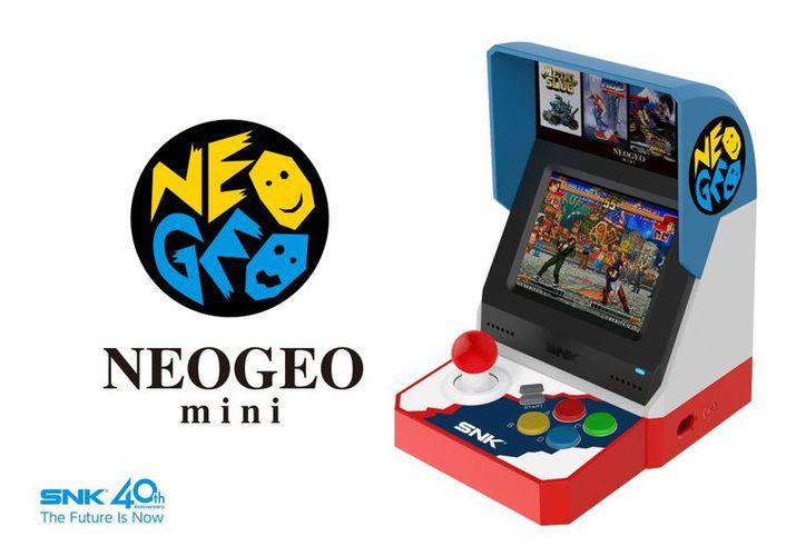La consola se encuentra equipada con los juegos más populares de SNK. (Twitter)