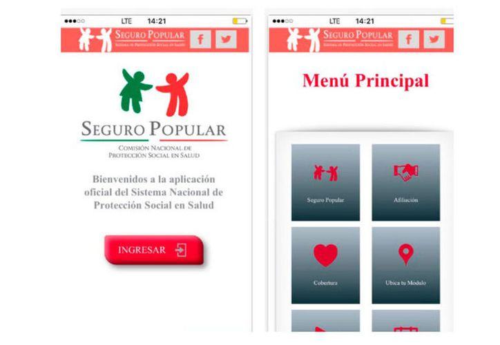 El 64% de los afiliados al Seguro Popular cuentan con un dispositivo móvil. (Vanguardia).