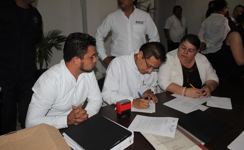 los nuevos institutos políticos en el estado ya cuentan con una representación en la mesa del Consejo General del Instituto Electoral de Quintana Roo. (Joel ZAmora/SIPSE)