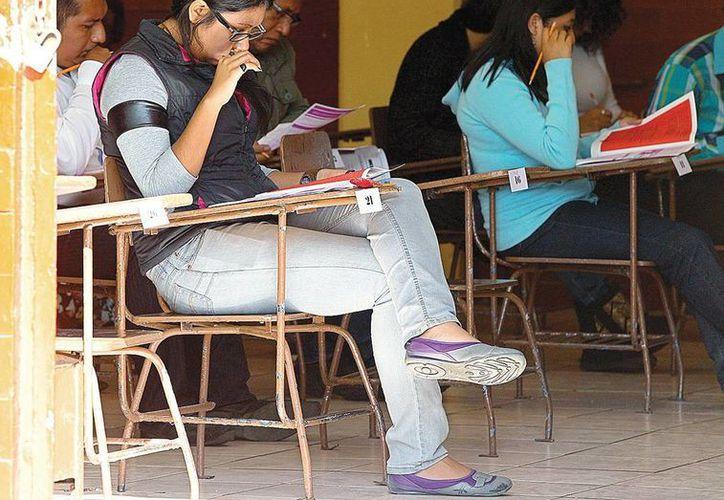 La evaluación a maestros se suspende hasta nuevo aviso en Oaxaca en el marco de amenazas de la CNTE. (Foto de contexto tomada de excelsior.com.mx)