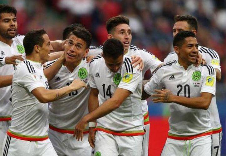 El cuadro Azteca podría hacer historia en la Copa Confederaciones, al ganarle de una vez por todas a Alemania. (Getty Images)