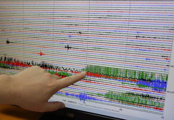 El terremoto fue a las 15:06 horas. (EFE)