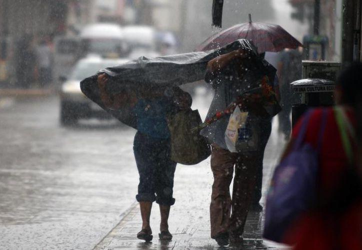 Se mantiene el pronóstico de lluvias en la región. (SIPSE)