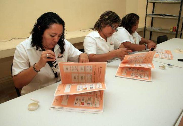 Representantes de Movimiento Ciudadano impugnaron el sistema de conteo de votos aprobado por el Iepac de cara a las elecciones del 7 de junio. (SIPSE/Foto de contexto)