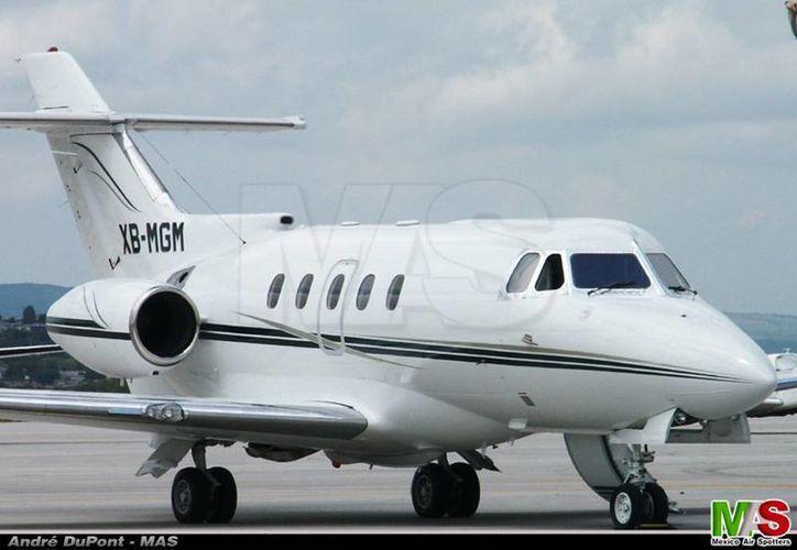 Un avión similar es el que fue robado a la empresa Jet Net. (México Air Spotters)