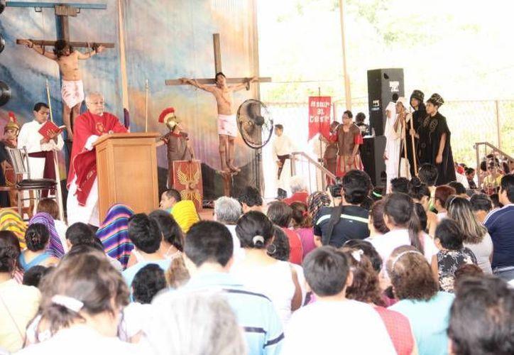 Este 19 de noviembre, desde la noche y hasta el amanecer, se realizará en Mérida la primera Vigilia en honor a Cristo Rey, en la parroquia de Pacabtún.  (SIPSE)