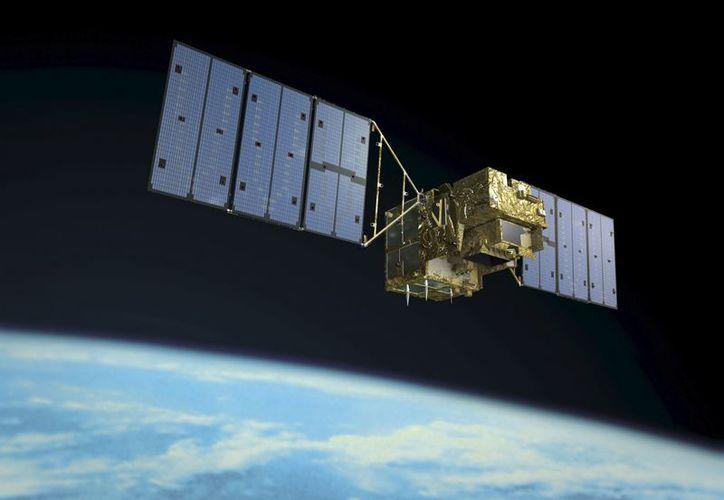 El satélite japonés 'Ibuki', dedicado a estudiar desde el espacio los gases de efecto invernadero. (EFE/Archivo)