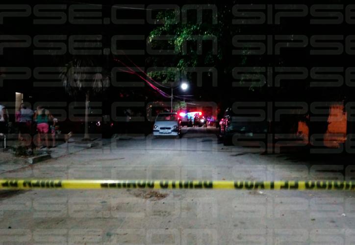 Los hechos ocurrieron en la calle Mariposa de la Región 105. (Redacción/SIPSE)