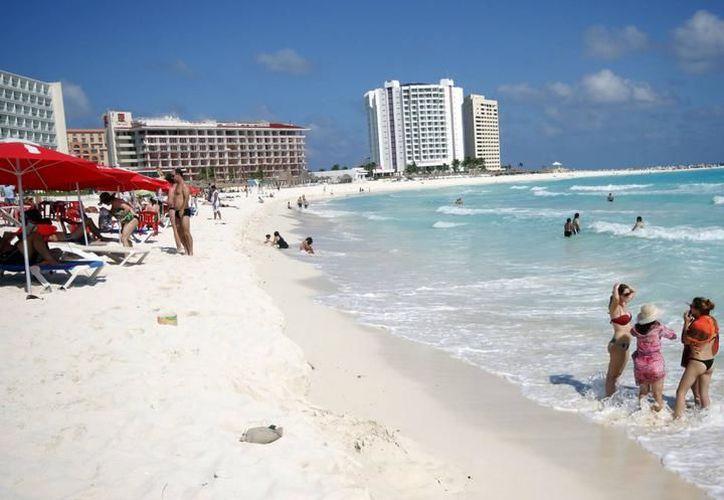 Cancún destaca por altos porcentajes de ocupación. (Redacción)