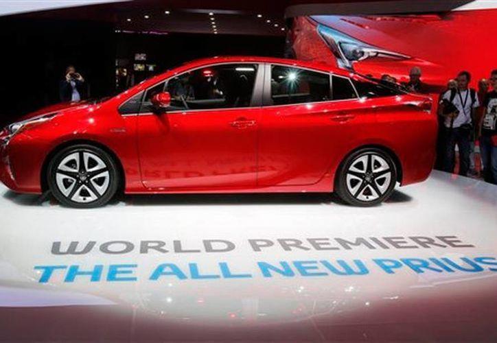 El nuevo Toyota Prius 2016 fue presentado a la prensa durante el Frankfurt Auto Show, en septiembre de 2015. (Archivo AP)