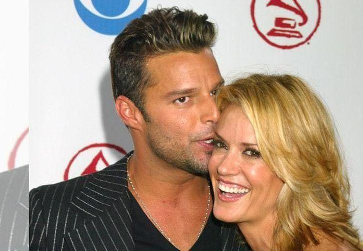 Rebecca de Alba, modelo y presentadora fue su novia de Ricky Martin durante nueve años. (Contexto/ Internet)