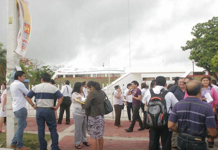 El INEE evaluó a mil 363 profesores de Quintana Roo. (Foto: Eddy Bonilla)