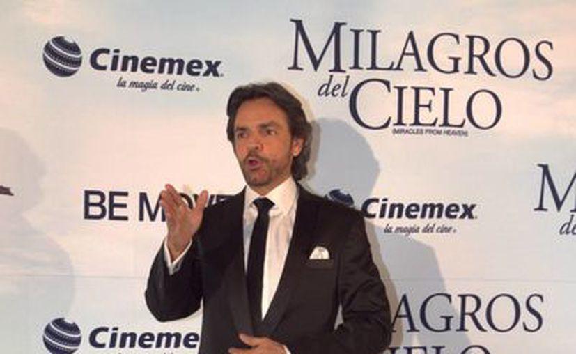 Eugenio Derbez filmará su primer protagónico en inglés. (Notimex)