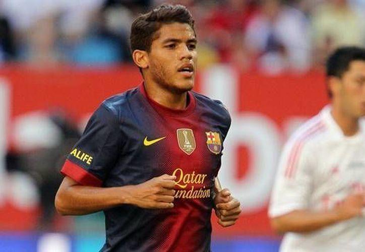 'Jona' tiene contrato con el Barcelona hasta 2015. (fcbarcelona.es)