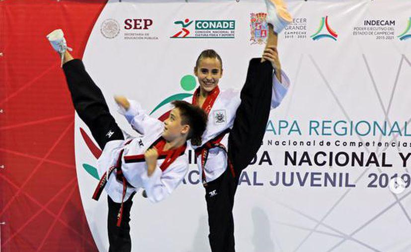 Los hermanos representarán a Yucatán en el Campeonato Nacional Mexicano. (Novedades Yucatán)