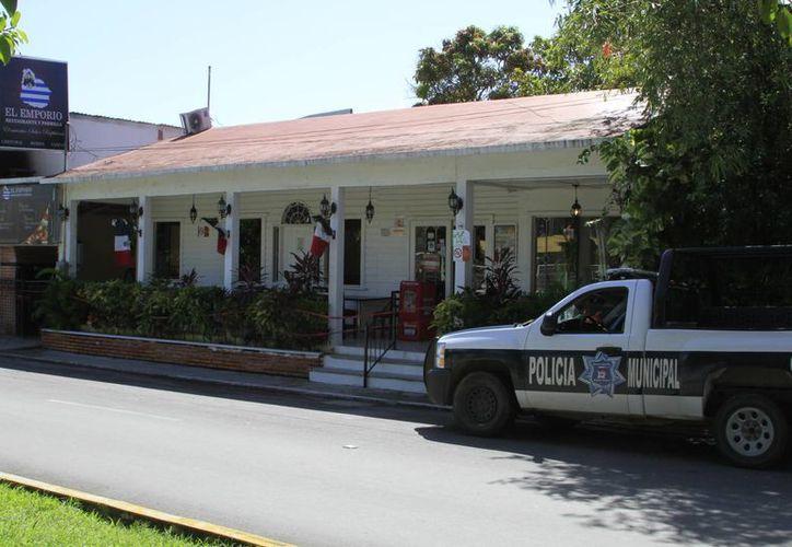En el lugar de los hechos también fue abatido un agente de la Policía Ministerial. (Ángel Castilla/SIPSE)