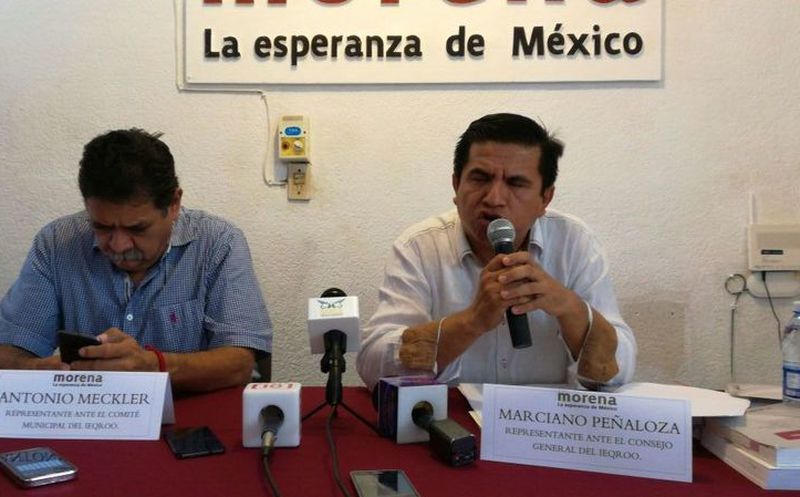 Morena asegura que las acciones de la autoridad electoral son improcedentes. (Claudia Olavarría)