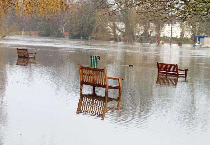 Los ríos más afectados por las lluvias en Gran Bretaña son el Avon, Stour, Parret y el Severn. (Archivo/EFE)