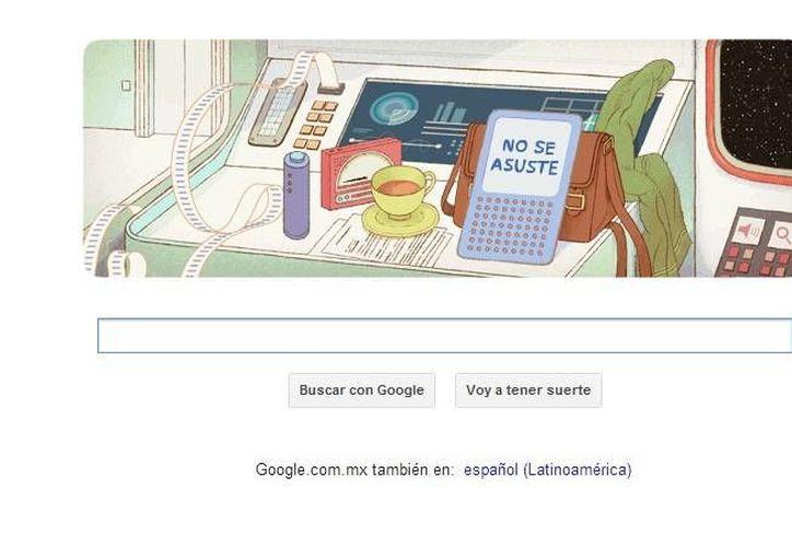Celebra Google natalicio del escritor inglés, fallecido en 2001. (Captura pantalla de Google)