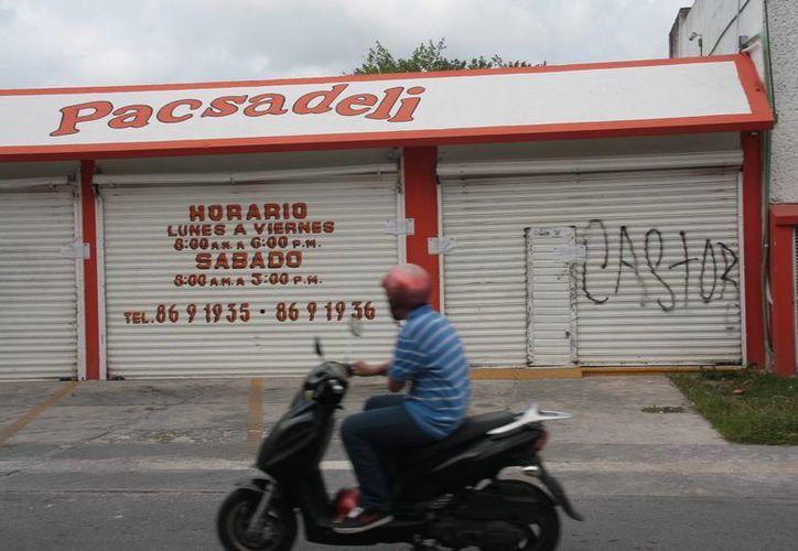 El negocio se ubica en la calle Dos norte, entre las avenidas 45 y 50 de la colonia 10 de Abril. (Julián Miranda/SIPSE)