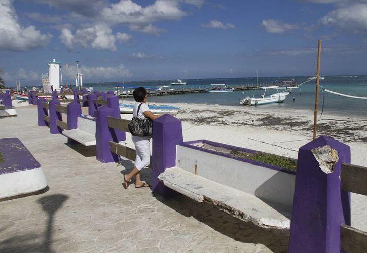Determinarán las playas que tendrán banderas azules. (Israel Leal/SIPSE)